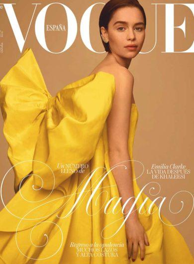 Emilia Clarke x Vogue Spain 2019 (2)